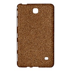 DARK BROWN SAND TEXTURE Samsung Galaxy Tab 4 (7 ) Hardshell Case