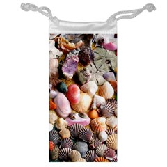 COLORFUL SEA SHELLS Jewelry Bags