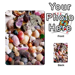 COLORFUL SEA SHELLS Multi-purpose Cards (Rectangle)