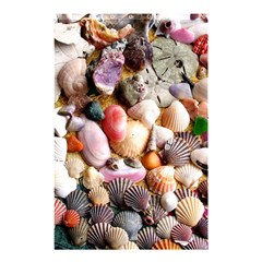 COLORFUL SEA SHELLS Shower Curtain 48  x 72  (Small)