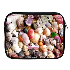 COLORFUL SEA SHELLS Apple iPad 2/3/4 Zipper Cases