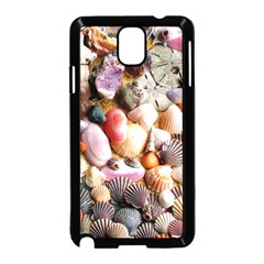 COLORFUL SEA SHELLS Samsung Galaxy Note 3 Neo Hardshell Case (Black)