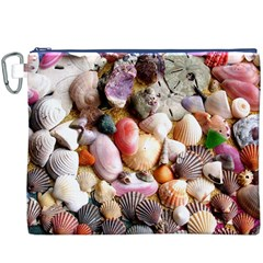COLORFUL SEA SHELLS Canvas Cosmetic Bag (XXXL)