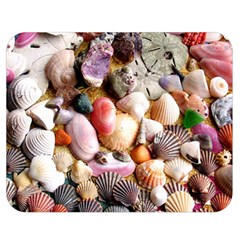 COLORFUL SEA SHELLS Double Sided Flano Blanket (Medium)