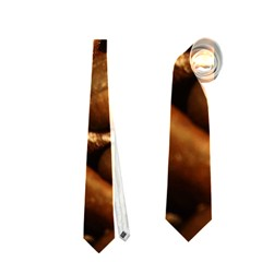 Chocolate Coffee Beans Neckties (one Side)