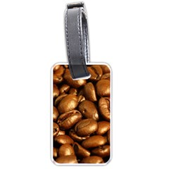 CHOCOLATE COFFEE BEANS Luggage Tags (One Side)