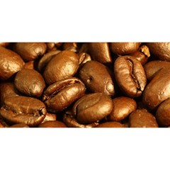 Chocolate Coffee Beans You Are Invited 3d Greeting Card (8x4)