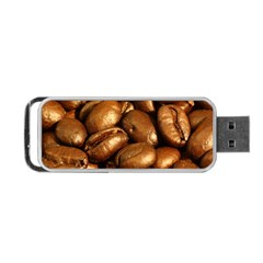 Chocolate Coffee Beans Portable Usb Flash (one Side)
