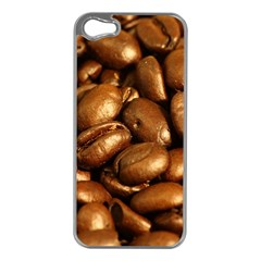 CHOCOLATE COFFEE BEANS Apple iPhone 5 Case (Silver)