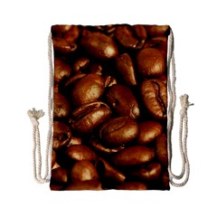 Chocolate Coffee Beans Drawstring Bag (small)