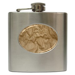 BROWN PAPER Hip Flask (6 oz)