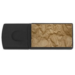 BROWN PAPER USB Flash Drive Rectangular (2 GB)