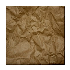 BROWN PAPER Face Towel