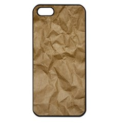BROWN PAPER Apple iPhone 5 Seamless Case (Black)