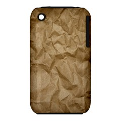 BROWN PAPER Apple iPhone 3G/3GS Hardshell Case (PC+Silicone)