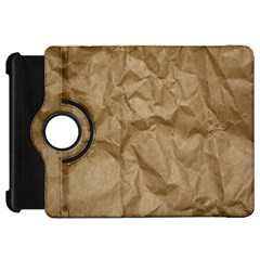 BROWN PAPER Kindle Fire HD Flip 360 Case