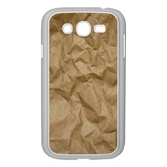 BROWN PAPER Samsung Galaxy Grand DUOS I9082 Case (White)