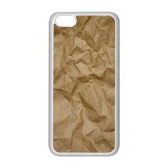 BROWN PAPER Apple iPhone 5C Seamless Case (White)