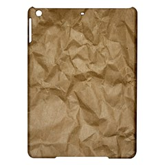 BROWN PAPER iPad Air Hardshell Cases