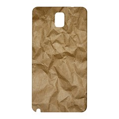 BROWN PAPER Samsung Galaxy Note 3 N9005 Hardshell Back Case