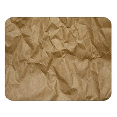 BROWN PAPER Double Sided Flano Blanket (Large)