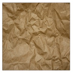 BROWN PAPER Large Satin Scarf (Square)
