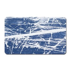 BLUE AND WHITE ART Magnet (Rectangular)