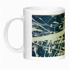 BLUE AND WHITE ART Night Luminous Mugs