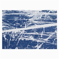 BLUE AND WHITE ART Large Glasses Cloth