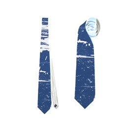 BLUE AND WHITE ART Neckties (One Side)