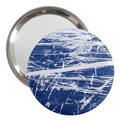 BLUE AND WHITE ART 3  Handbag Mirrors