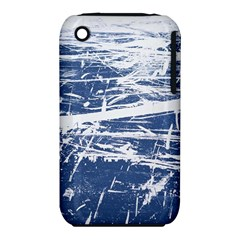 BLUE AND WHITE ART Apple iPhone 3G/3GS Hardshell Case (PC+Silicone)