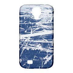 Blue And White Art Samsung Galaxy S4 Classic Hardshell Case (pc+silicone)