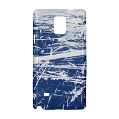 BLUE AND WHITE ART Samsung Galaxy Note 4 Hardshell Case