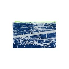 BLUE AND WHITE ART Cosmetic Bag (XS)