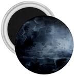 BLACK SPLATTER 3  Magnets Front
