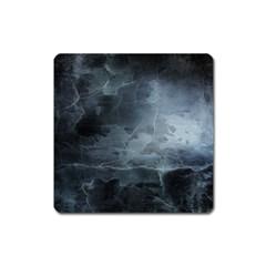 BLACK SPLATTER Square Magnet