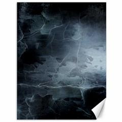 BLACK SPLATTER Canvas 36  x 48