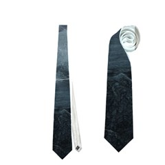 Black Splatter Neckties (one Side)