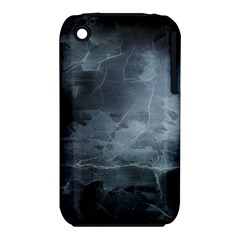 BLACK SPLATTER Apple iPhone 3G/3GS Hardshell Case (PC+Silicone)