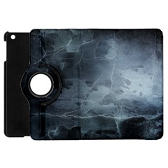 BLACK SPLATTER Apple iPad Mini Flip 360 Case