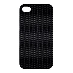 BLACK HONEYCOMB Apple iPhone 4/4S Hardshell Case