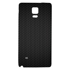 BLACK HONEYCOMB Galaxy Note 4 Back Case