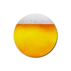 BEER Rubber Round Coaster (4 pack)