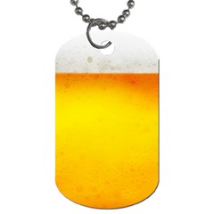 BEER Dog Tag (Two Sides)