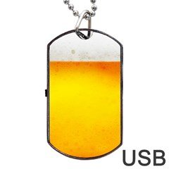 Beer Dog Tag Usb Flash (one Side)