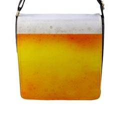 BEER Flap Messenger Bag (L)