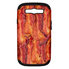 BACON Samsung Galaxy S III Hardshell Case (PC+Silicone)