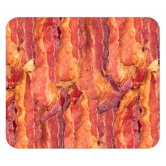 Bacon Double Sided Flano Blanket (small)