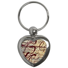 ABSTRACT 2 Key Chains (Heart)